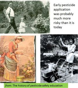 Early pesticide application